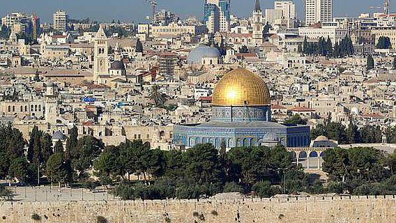 Jerusalem: Schnittstelle dreier Religionen (Foto: Berthold Werner/ Public Domain)