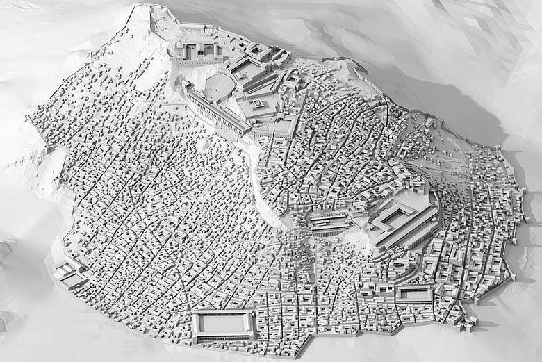Pergamon 3D-Modell