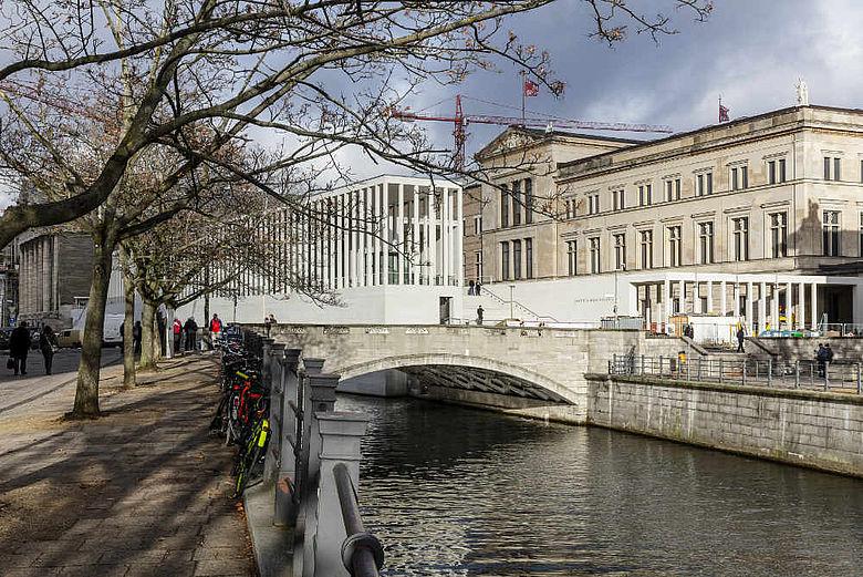 James-Simon-Galerie auf der Berliner Museumsinsel