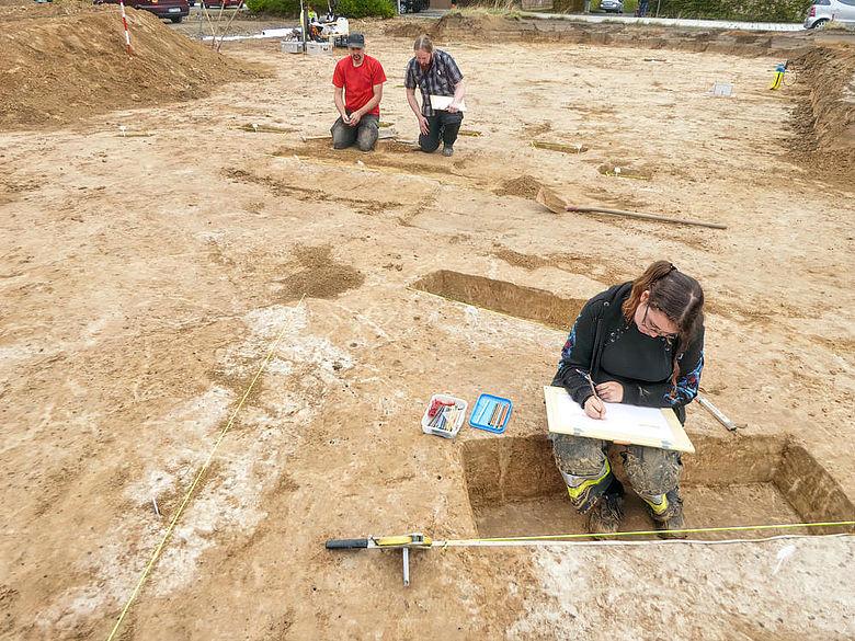 Ausgrabungen in Spenge