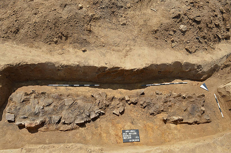 Eisenzeitliche Gargrube