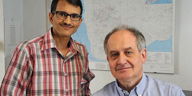 Prof. Ali Al-Salami und Prof. Norbert Nebes