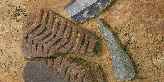 Neolithische Funde aus Bochum-Laer