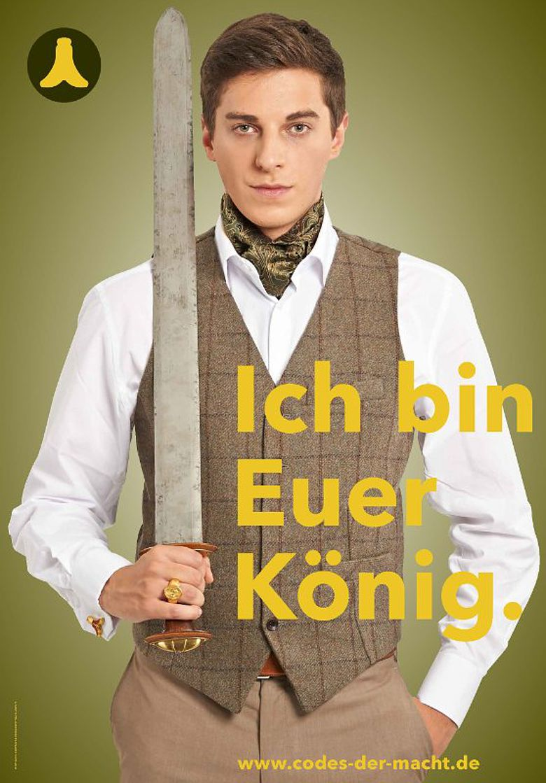 Chlodwig, dargestellt von Philipp Prechtl