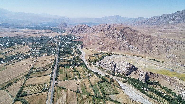 Luftbild Obishir
