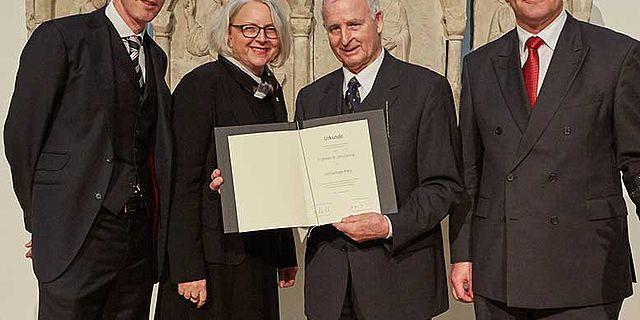 Verleihung Archäologiepreis an Prof. Lüning