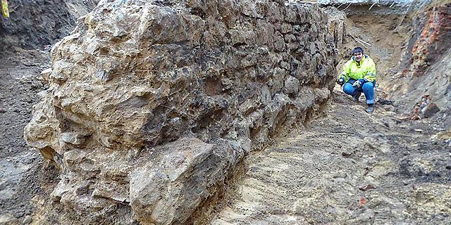 Kirchenmauer Herford