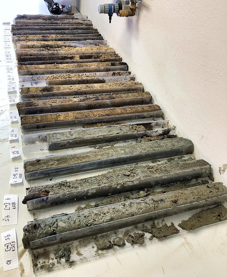 Sedimentbohrkerne