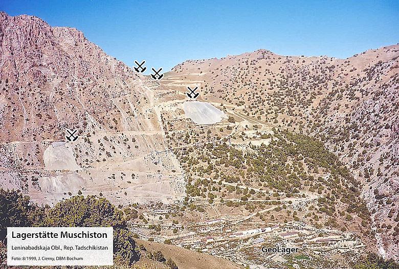Zinnlagerstätte Muschiston (Tadschikistan)