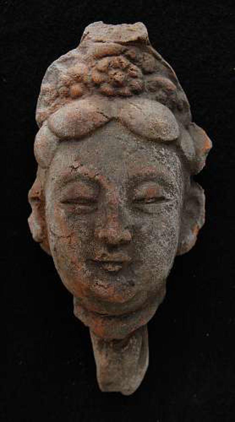 Kopf einer Kinnari