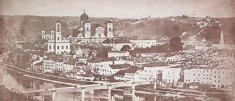 Passau um 1860