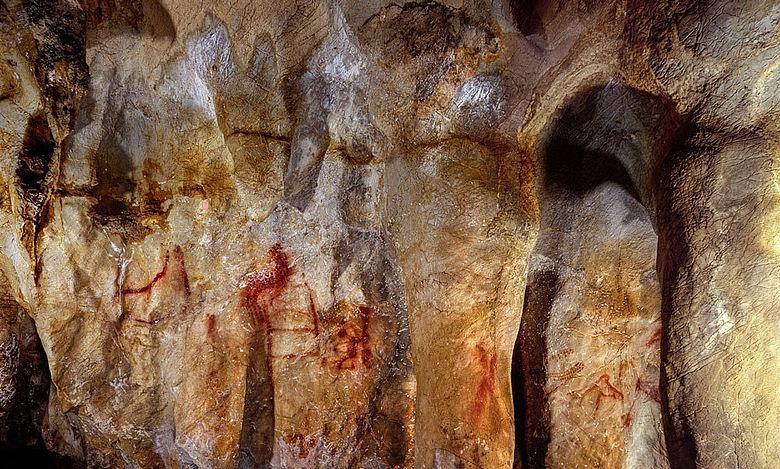 Höhlenmalerei Neanderthaler