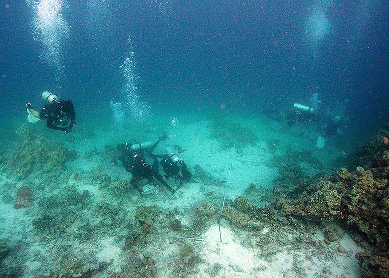 Marburger Unterwasserarchäologen
