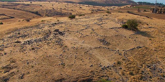 Ruinenhügel von Horvat Kur
