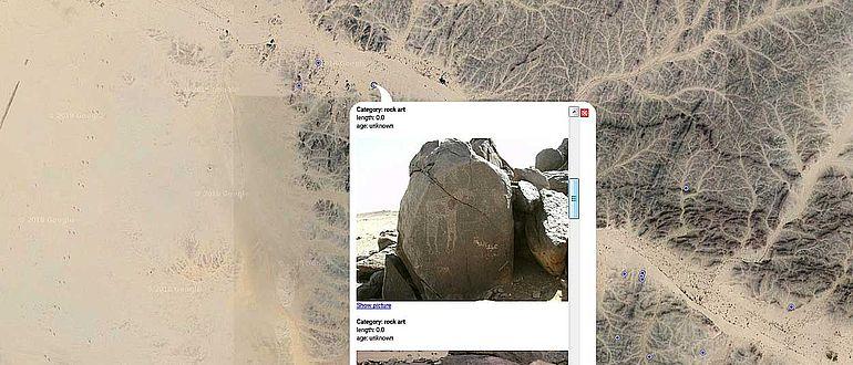 Felsbilder im Sudan