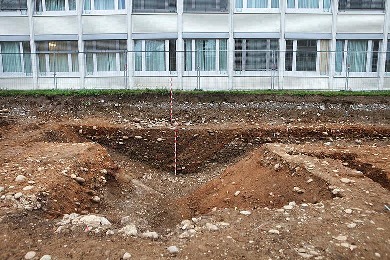 Römischer Spitzgraben