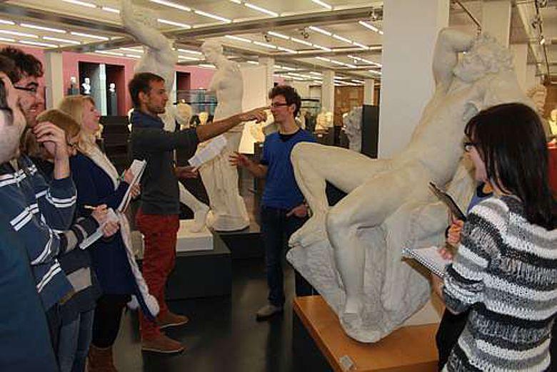 """Einer der Gewinner bei """"SammLehr"""": die Archäologische Sammlung der Universität Freiburg (Foto Uni Freiburg)"""