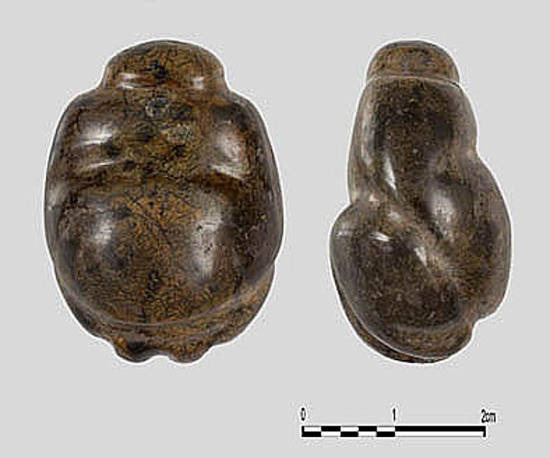 Neolithische Frauenfigur