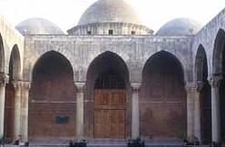 Hof der Madrasa al-Firdaus in Aleppo (Foto: Lorenz Korn)
