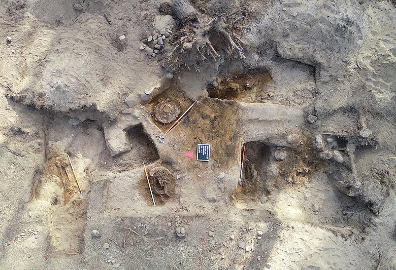 Ausgrabung auf dem Belziger Galgenberg
