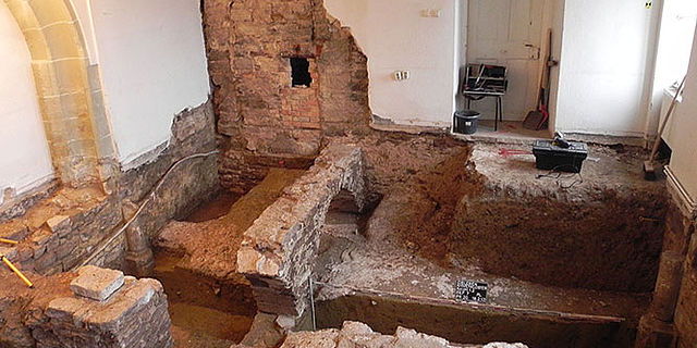 Ausgrabung St. Annen