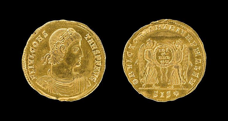 Goldmünze aus Fredenbeck