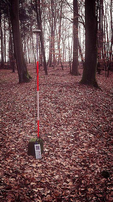 Limesaufnahme mit GPS