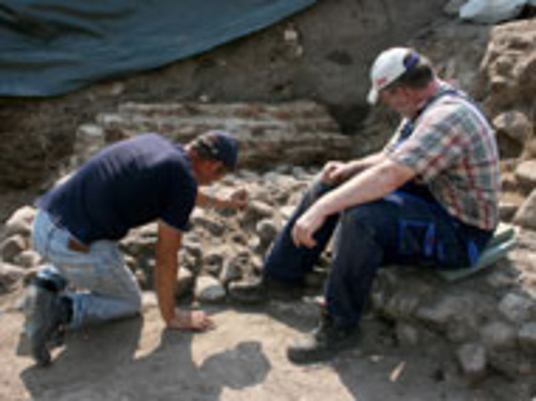 Ausgrabungen am Danewerk. © ALSH