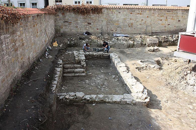 Kellermauern aus dem 17. Jh.