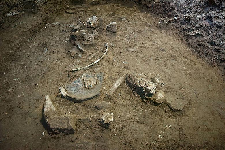 Funde in der äthio-sabäischen Kulturschicht