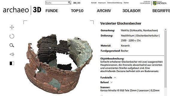 Glockenbecher 3D