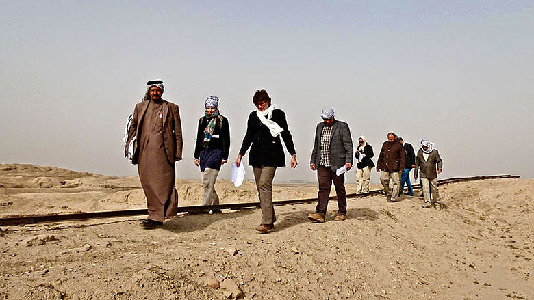 Summer School Irak 2013: Reise nach Uruk
