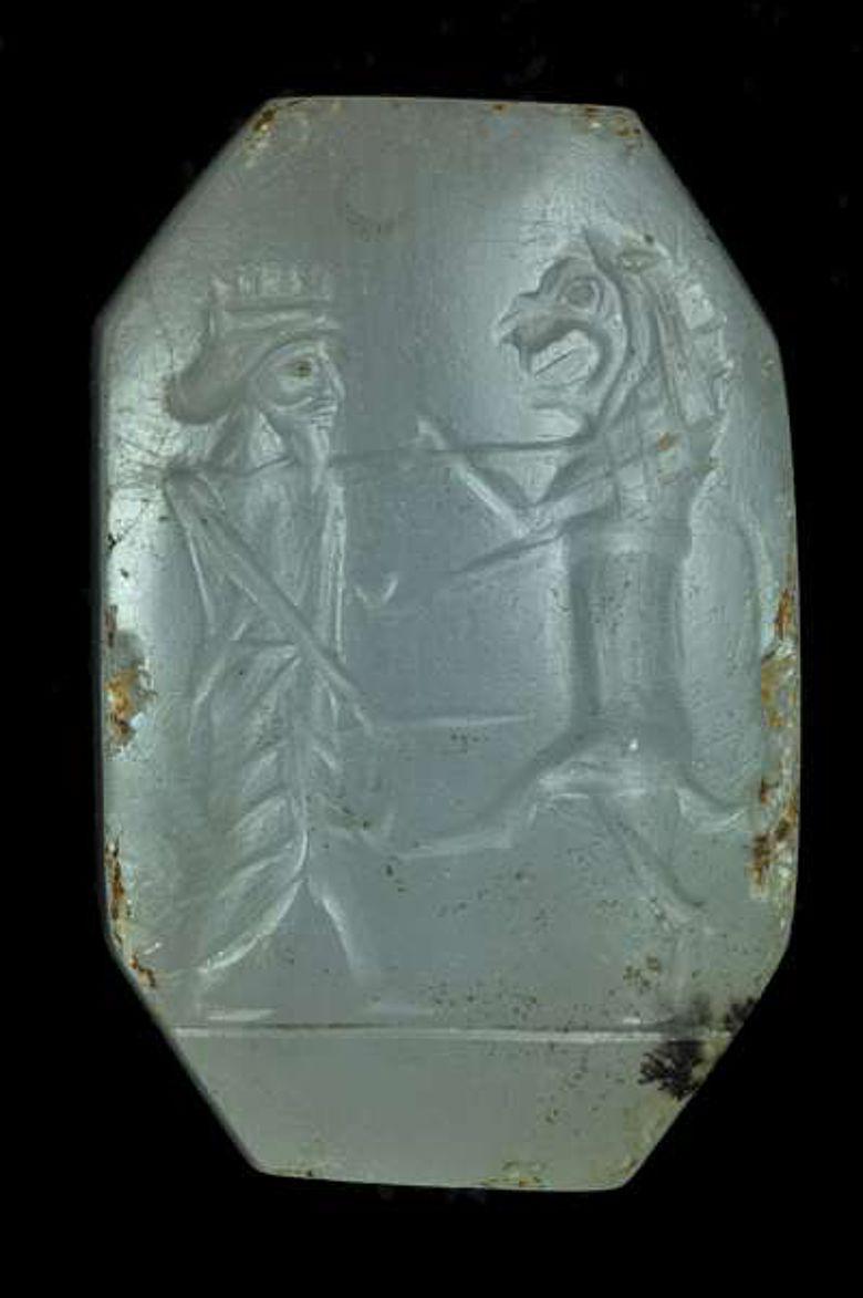 Siegel aus der Zeit des persischen Großreiches