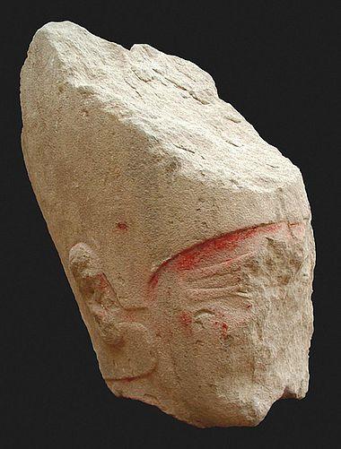 Kopf einer Königsstatue
