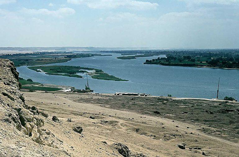 Nillandschaft bei Beni Hasan