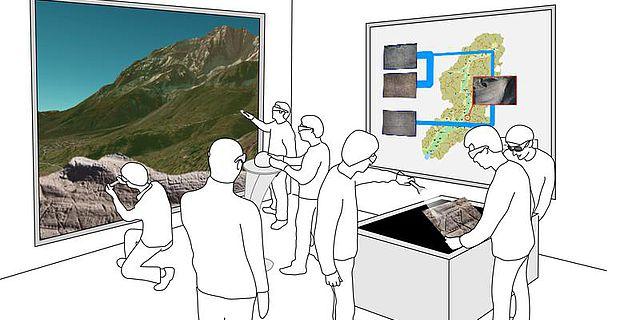 Präsentationssysteme und Visualisierungstechniken