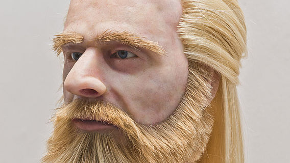 Plastische Gesichtsrekonstruktion des Herrn Boilstädt