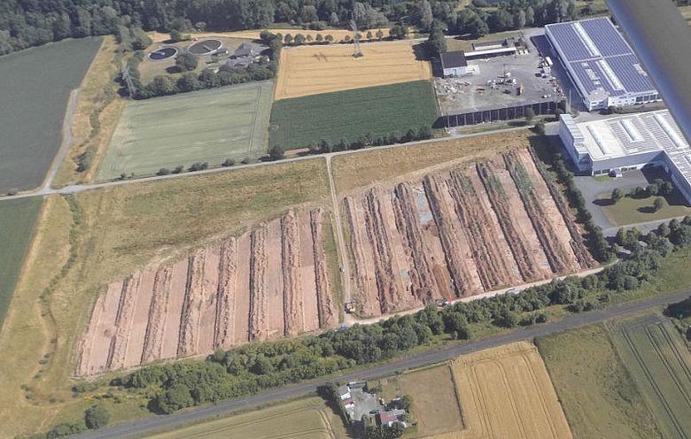 Grabungsgelände Marsberg-Westheim