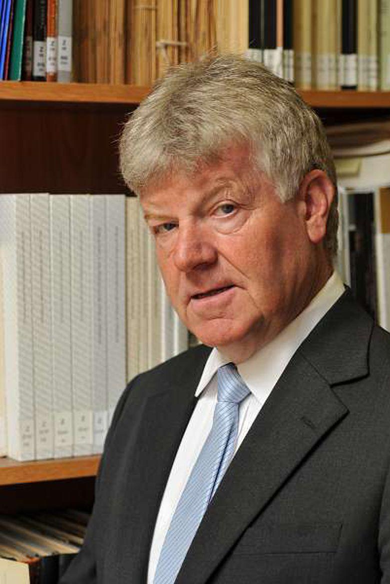 Prof. Dr. Egon Schallmayer (Foto B. Steinbring, hessenARCHÄOLOGIE)