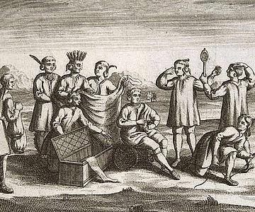 Kupferstich, um 1722