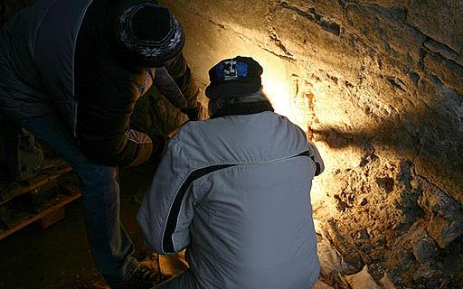 Untersuchung der Mauer