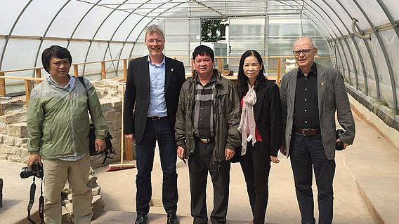 Delegation aus Hanoi