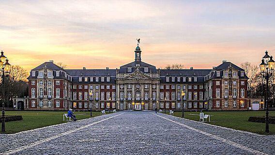 Hauptgebäude der Westfälischen Wilhelms-Universität Münster