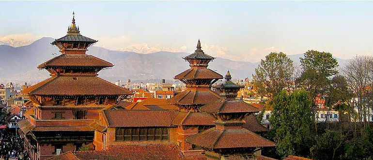 Website des Nepal Heritage Documentation Project
