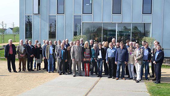 Mitglieder der Altertumskommission waren zu Gast im LVR-RömerMuseum Xanten(Foto: LWL)