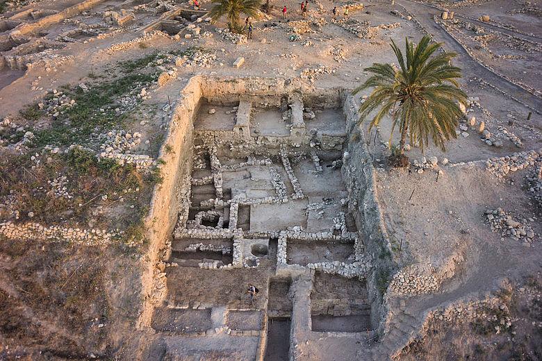 Ausgrabung in Megiddo