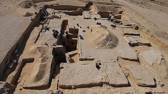 Ausgrabung in Palmyra