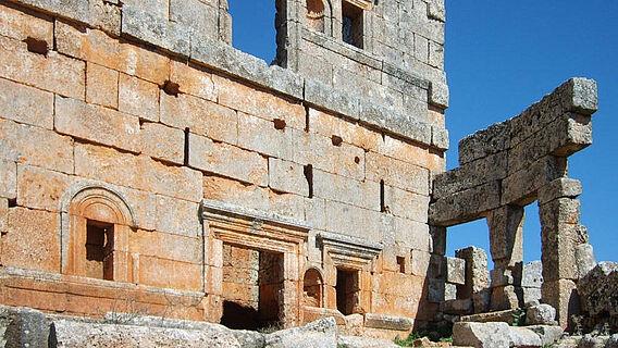 Spätantikes Haus in Syrien