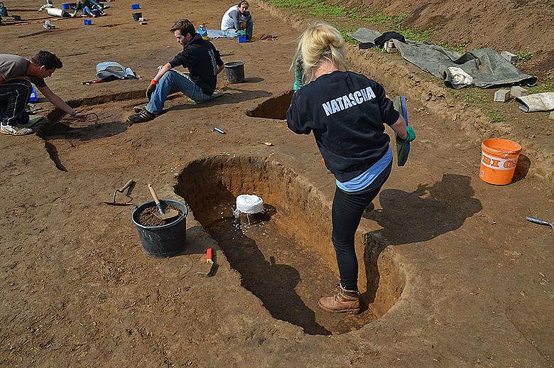 Ausgrabung Warburg-Hohenwepel