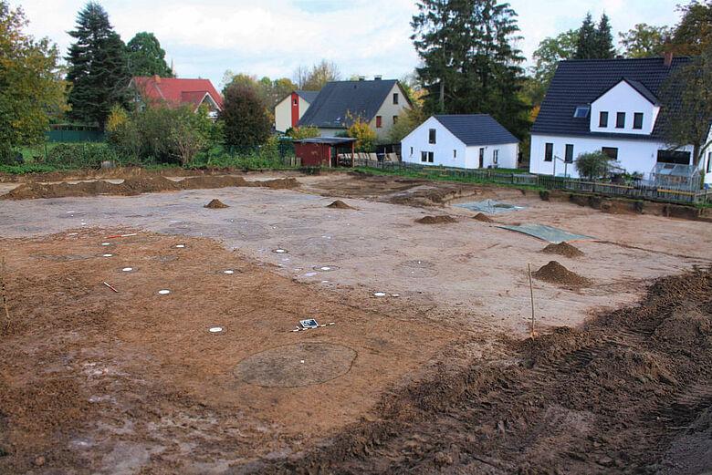 Mittelalterlicher Hausgrundriss